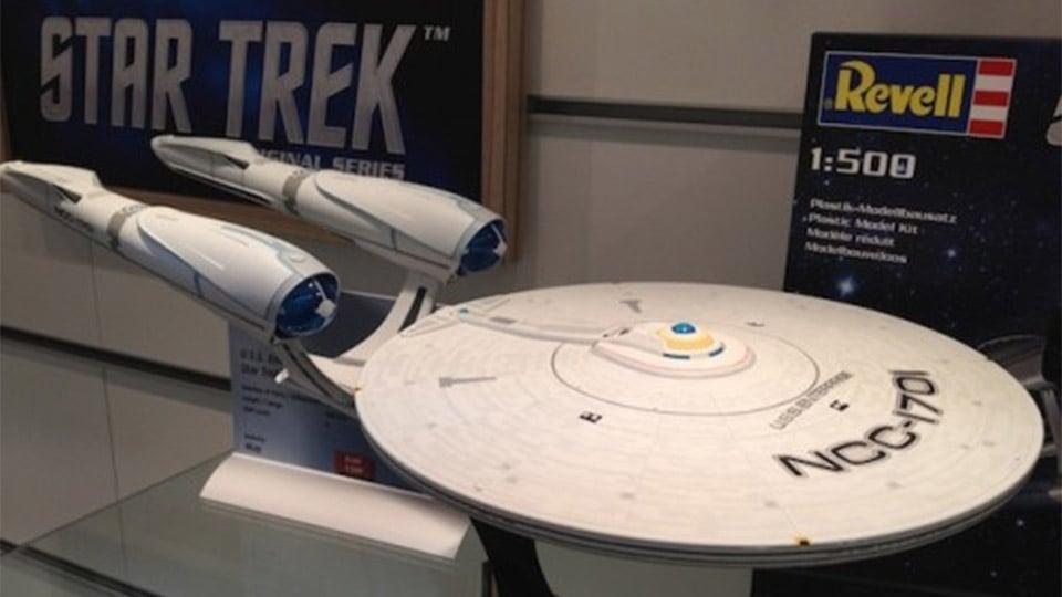 Scale Model Star Trek: Into Darkness Enterprise