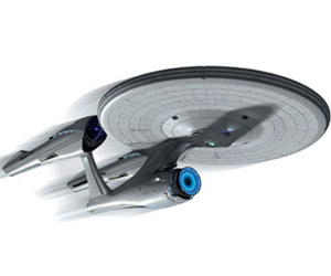 Scale Model Star Trek: Into Darkness Enterprise