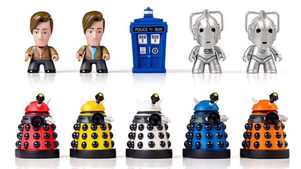 Doctor Who Titans Series 1 Vinyl Figures