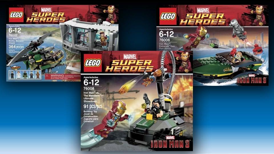 Iron Man 3 Lego Super Heroes