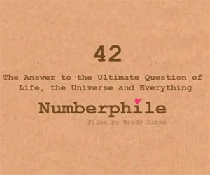 The Number 42: Mathematical Peculiarities