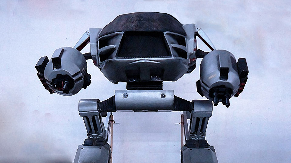 10 Foot Tall RoboCop 2 Full Size Robot