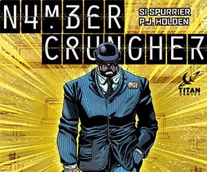 Numbercruncher: A New Series from Titan Comics