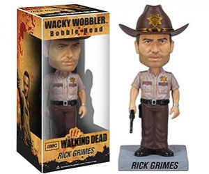 The Walking Dead Bobbleheads: Collect All Four