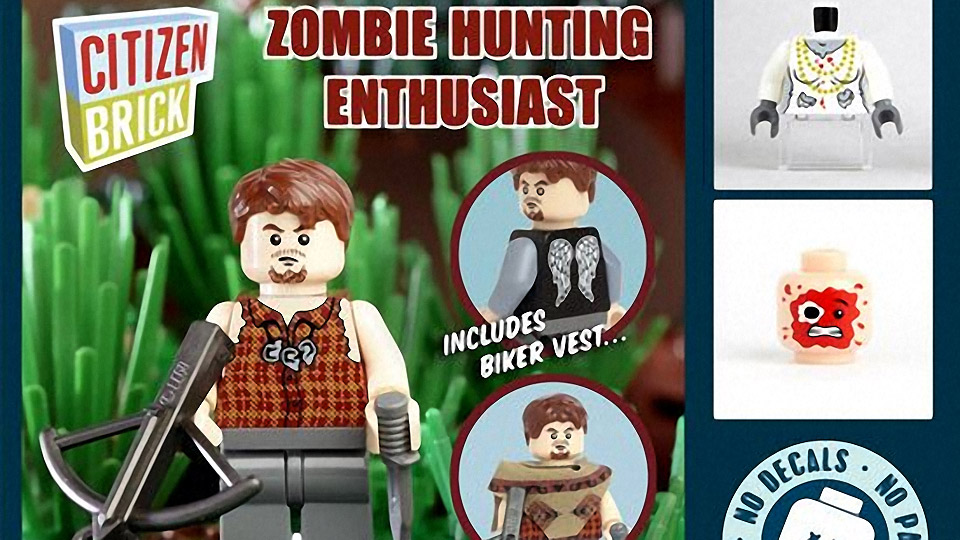LEGO Zombie Hunting Enthusiast