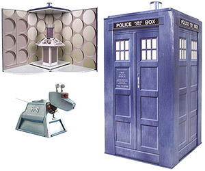 New Doctor Who Collectible Toys and Figures