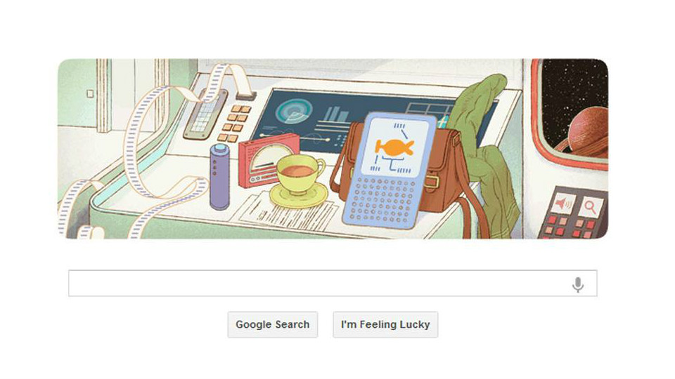 Google Celebrates Douglas Adams's 61st Birthday