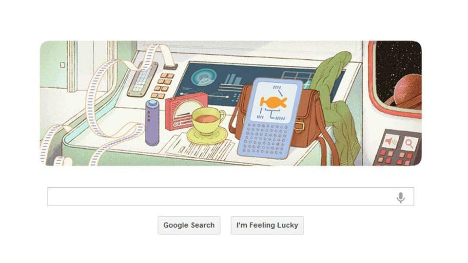 Google Celebrates Douglas Adams's 61st Birthday