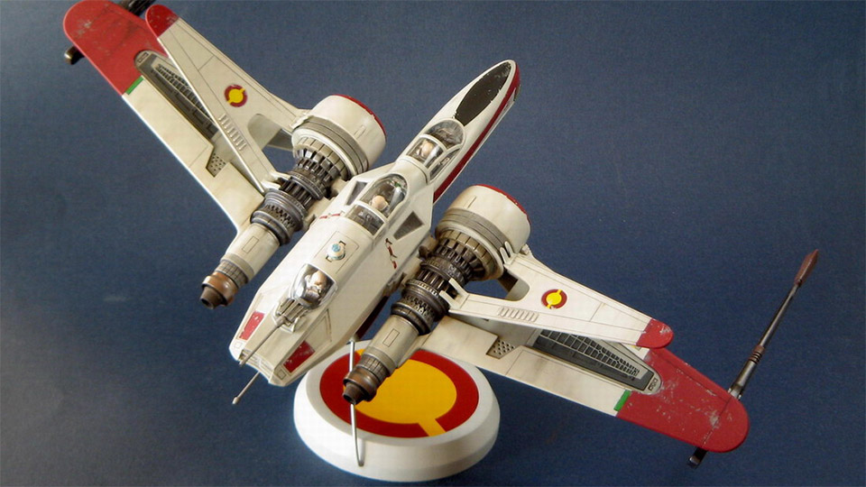 ARC-170 Starfighter Model
