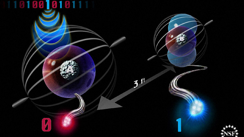 Quantum Teleportation Over a Record Distance