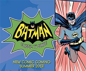 Retro Batman Merchandise for 1960's TV Series