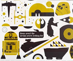 Retro Pop Art Star Wars Trilogy Posters on Etsy