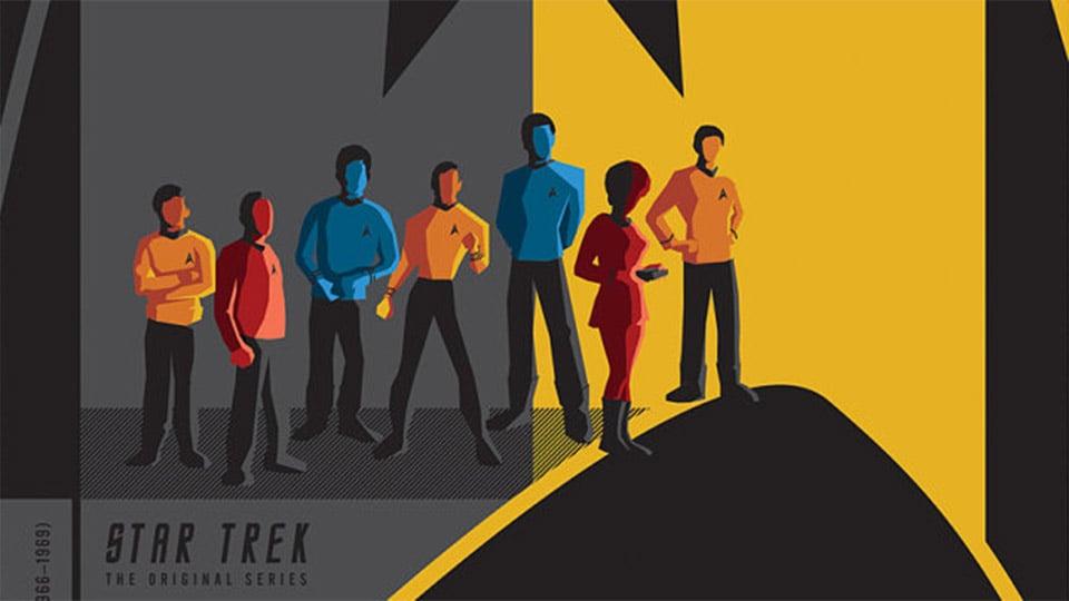 Original Star Trek Logo Star Trek Original Series Crew