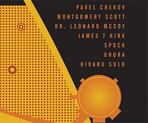Star Trek Original Series Crew Poster
