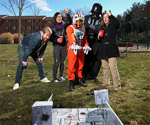 Become a Jedi Master with the Death Star Trench Toss