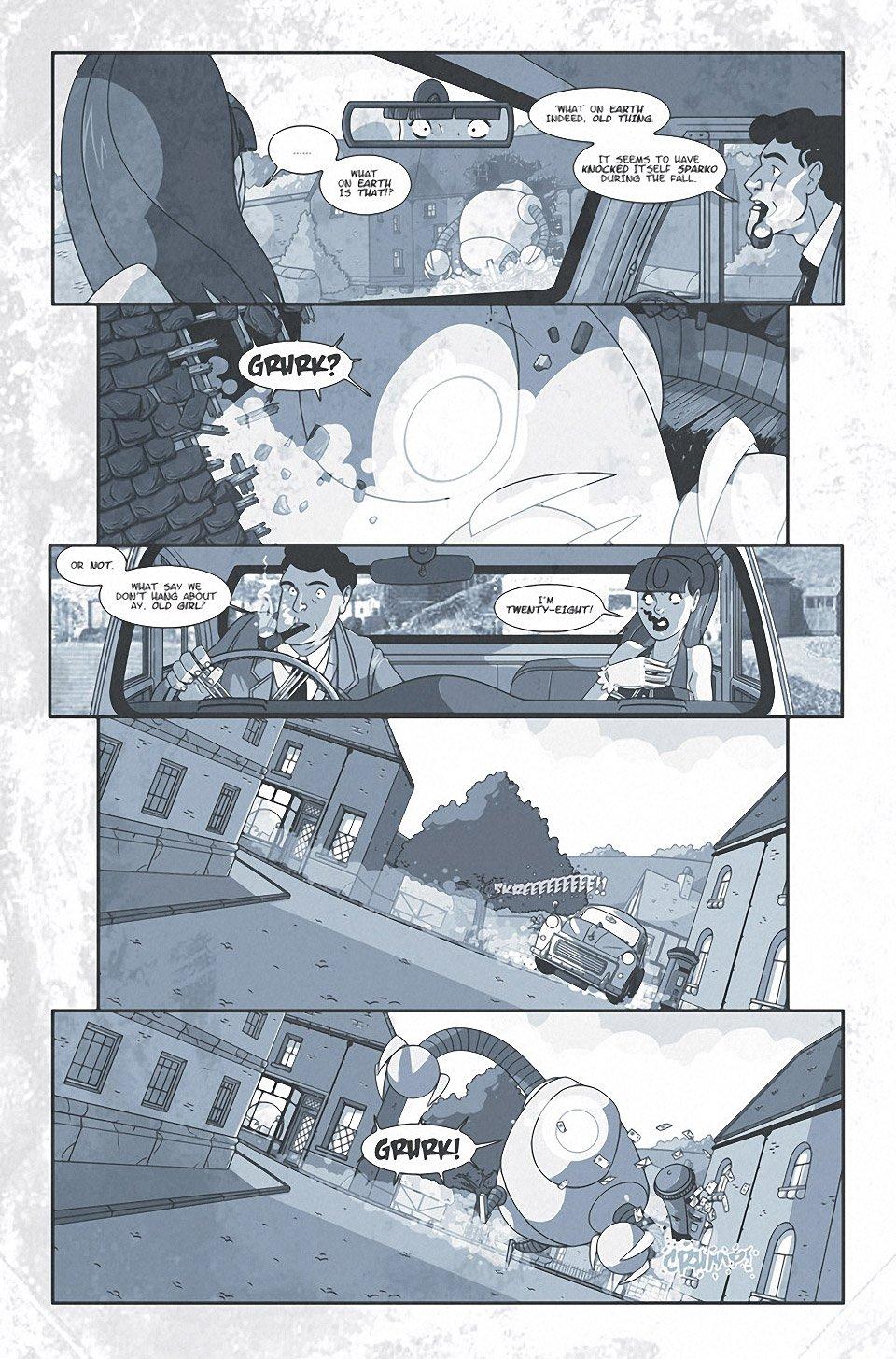 It Came! New Comic Series from Titan Comics