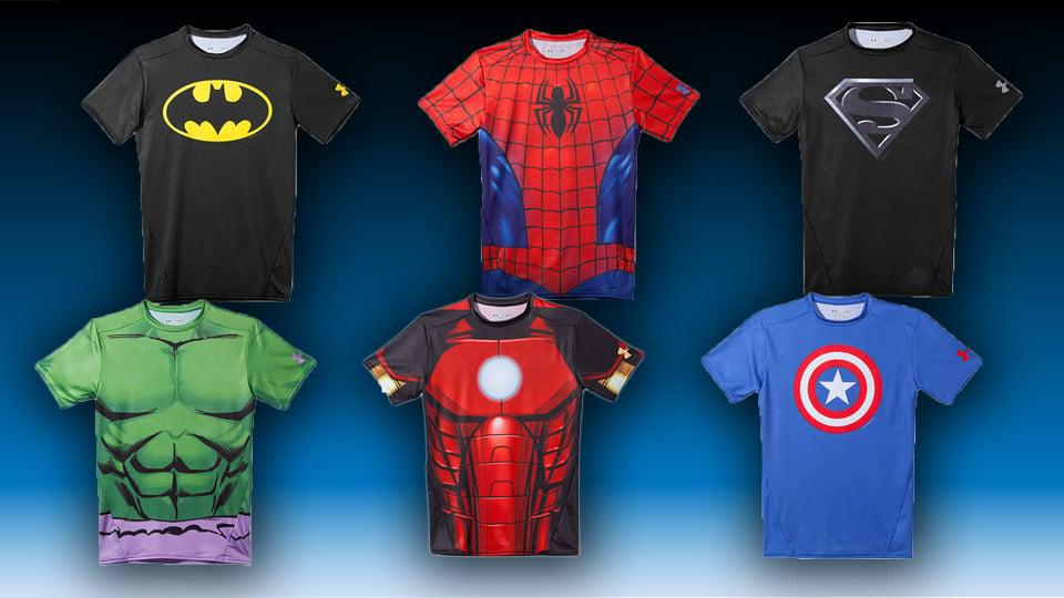 Under Armour Superhero Cleats Spiderman Super Hero Workout Wea...