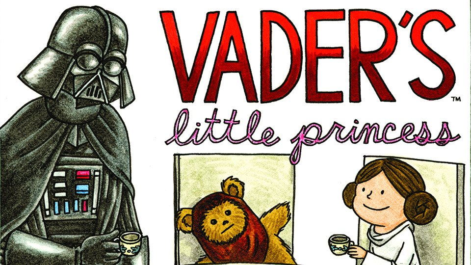Vader's Little Princess: A New Book by Jeffrey Brown
