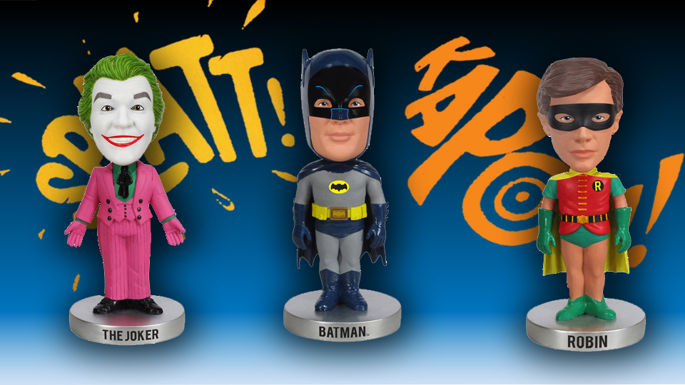 1966 TV Series Batman Bobble Heads