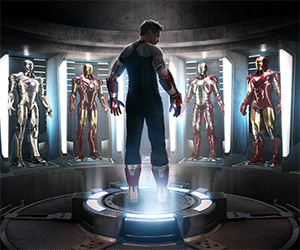 Iron Man 3 Hall of Armors Concept Art Prints