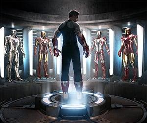 Iron Man 3 Hall of Armors Concept Art Prints