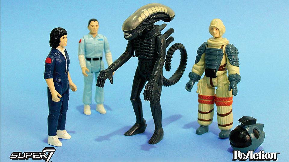 Revived 1979 Alien Action Figures