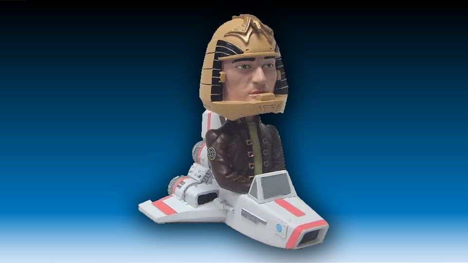 Battlestar Galactica Apollo Flying Bobble Head