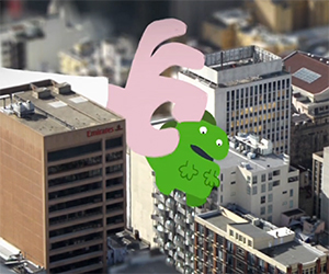 Bless You: An Architect and a Tiny Godzilla