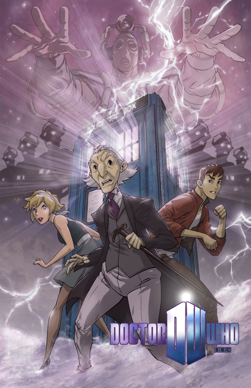 Doctor Who Animated Series Concept Art