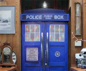 Turn Your Refrigerator Into a TARDIS Police Box