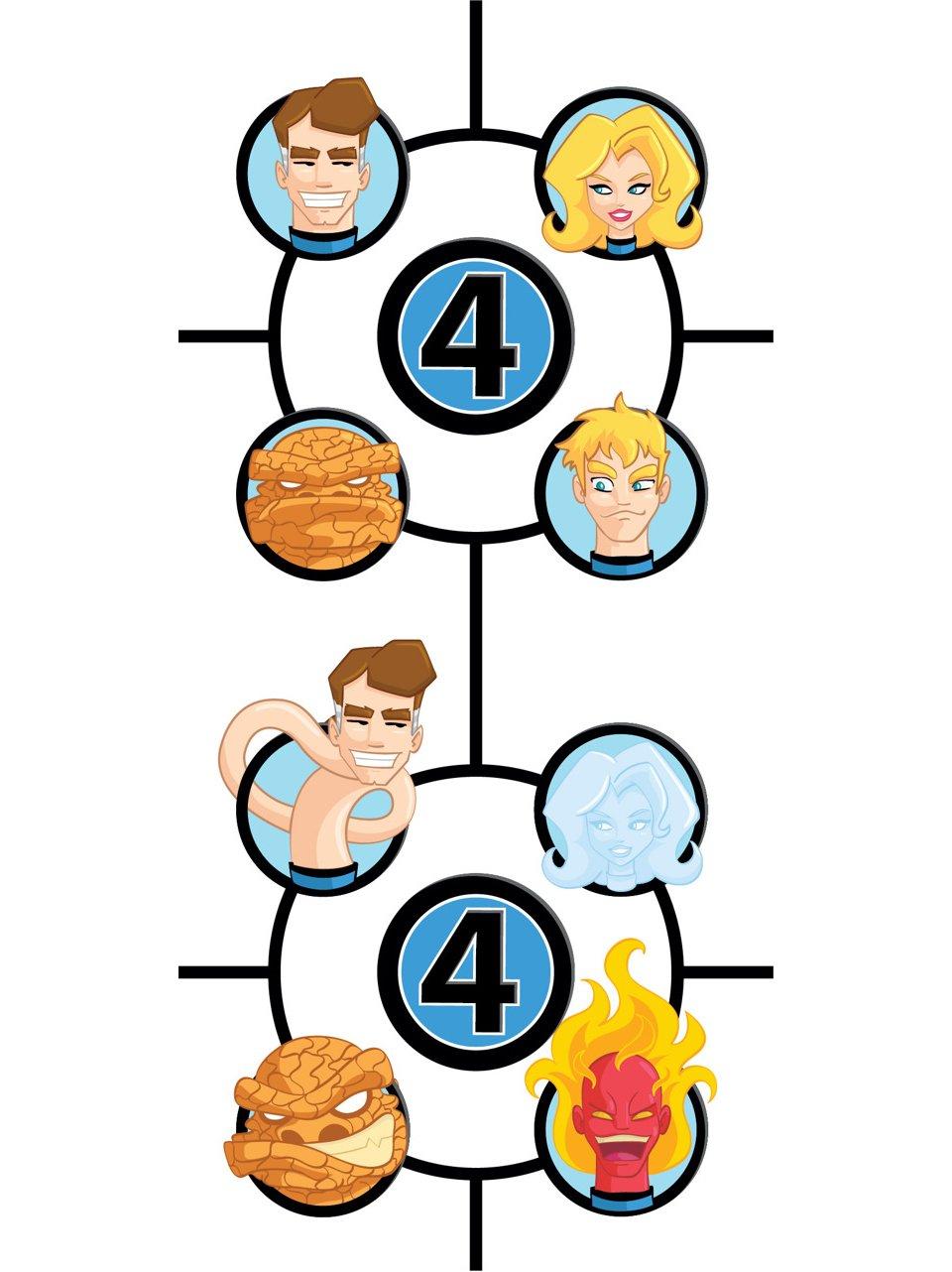 Fantastic Four Character Art
