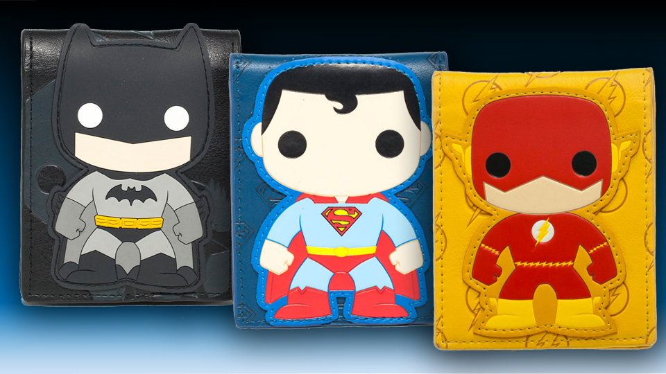 Funko Bi-Fold Superhero Wallets