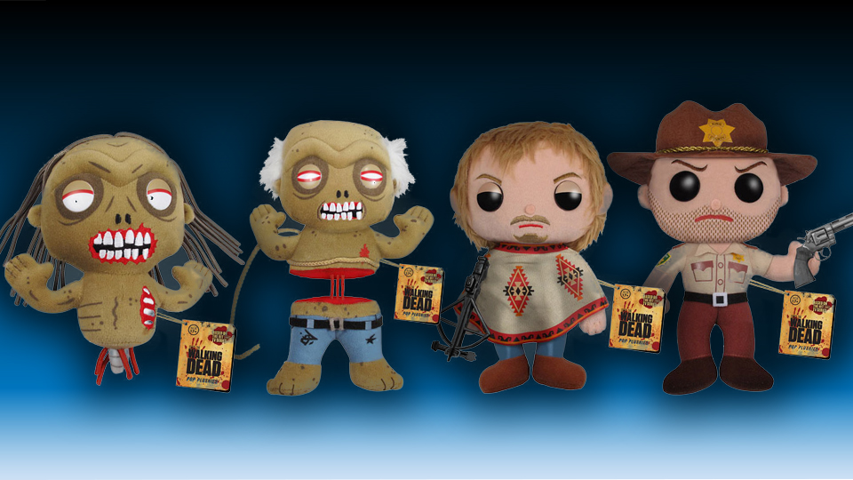 The Walking Dead Plush Collection
