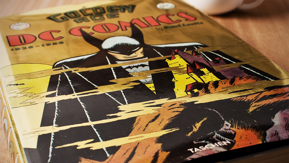 DC Comics: Golden Age Coffee Table Book