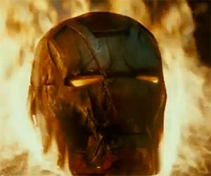 Iron Man 3 – Iron Man Helmet TV Clip