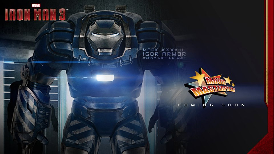 New Iron Man 3 1/6th Scale Armors