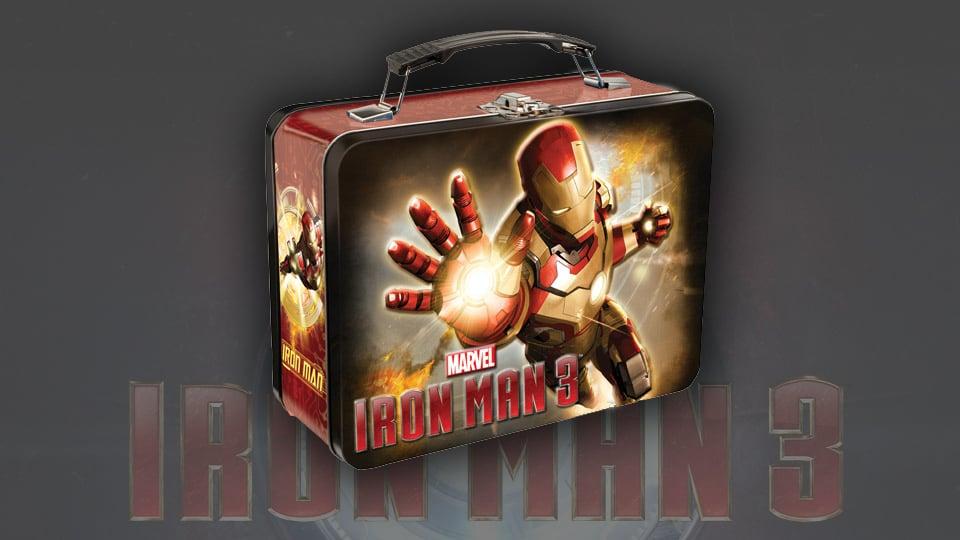 Iron Man 3 Lunch Box
