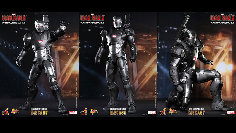 Iron Man 3 War Machine Mark II