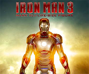 Life Size Iron Man 3 Mark 42 Statue