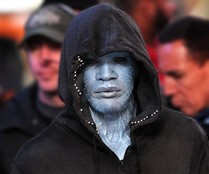 First Glimpse of Jamie Foxx as Electro