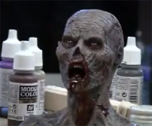 Zombie Paint Demonstration with Jamie S. Grove