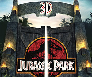 Jurassic Park 3D on Blu-Ray Available April 24