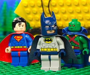 LEGO Justice League Battles Lex Luthor and The Joker