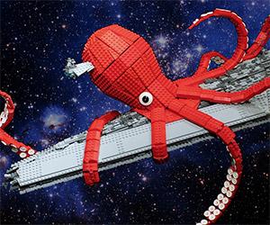 Release the LEGO Star Wars Space Kraken!