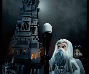 New LEGO Lord of the Rings Tower of Orthanc