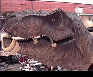 Jurassic Park: Making of an Animatronic T-Rex
