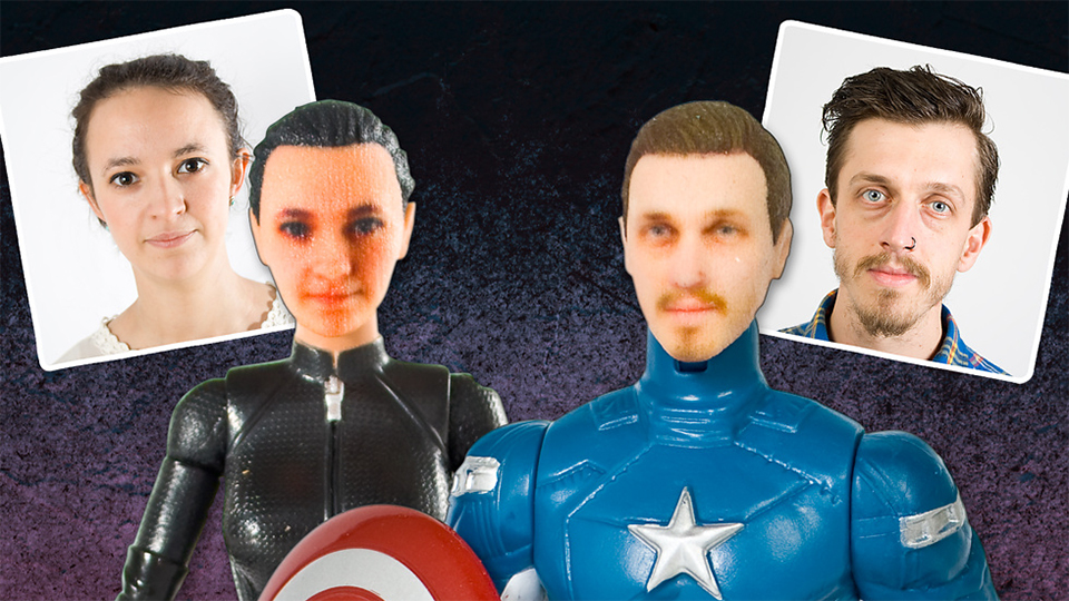 Your Own Personalized Superhero Action Figure