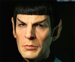 Lifelike Sculpture of Mr. Spock