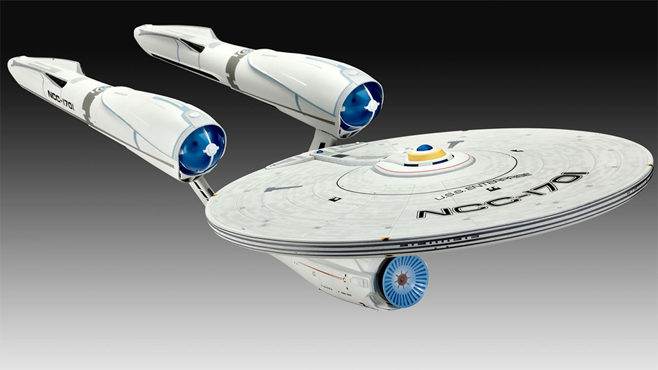 Star Trek: Into Darkness U.S.S. Enterprise Model Kit