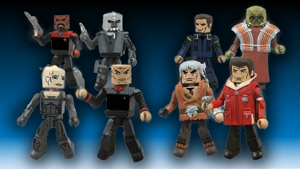 Star Trek Legacy Minimates Series 1